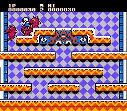 雪人兄弟(无敌、无限跳、无限射程,玩家双控)